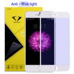 Diamond ฟิล์มกระจก Iphone 6 Plus ไอโฟน6 พลัส ( Anti-blue light) ป้องกันแสงสีฟ้า แบบเต็มจอ สีขาว