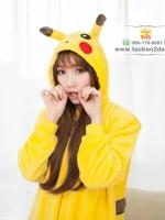 ชุดแฟนซี / ชุดคอสเพลย์ลายการ์ตูน Pikachu (รวมรองเท้า 1,200บาท)