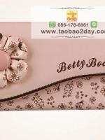 BETTY BOOP กระเป๋าสตางค์เบ็ดตี้ บู๊ฟ ลวดลายการ์ตูนนำสมัย น่ารักมากๆค่ะ