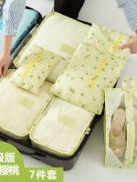 Bags in bag กระเป๋าจัดระเบียบเสื้อผ้า สำหรับเดินทาง เซ็ท 7 ชิ้น มี 24สี ให้เลือกค่ะ