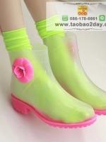 รองเท้าบูทแฟชั่นสำหรับหน้าฝน