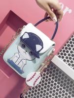 กระเป๋าถือ/สะพาย กระเป๋าใส่ไอโฟน iPhone ลายการ์ตูนแมวเหมียวใส่หมวกน่ารักมากค่ะ