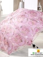umbrella ร่มกันแดด ป้องกันรังสี UV ตกแต่งด้วยลูกไม้ สวยมากค่ะ