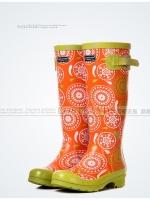 รองเท้าบูท LOSTLANDS รองเท้าบูทกันน้ำแฟชั่น สำหรับหน้าฝน ยาวถึงหัวเข่า สูง 38.5 ซม. (ตัวแทน 1,120บาท)