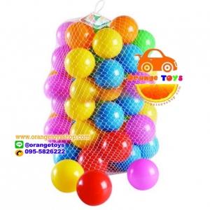 """ลูกบอล ขนาด 3"""" จำนวน 100 ลูก คละสี"""