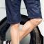กางเกงขาสั้นแฟชั่นเกาหลี CAMO : สีกรมท่า thumbnail 5