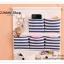 GH101 กระเป๋าผ้าแบบแขวนผนัง ทำจากผ้าฝ้าย มีช่องใส่ของจุกจิกมากมาย พร้อมที่แขวนกุญแจต่างๆ มีช่องใส่กระดาษทิชชู จะแขวนในห้องนอน หน้องทำงาน ห้องนั่งเล่น หรือห้องน้ำนอน ก็สวยเข้ากับทุกห้องคะ thumbnail 5