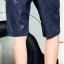 กางเกงขาสั้นแฟชั่นเกาหลี CAMO : สีกรมท่า thumbnail 6