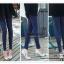 LG034 กางเกงเลคกิ้ง มี 7 สี ขายาว ผ้าลายแนวตั้ง ยืดหยุ่นอย่างดี ขยายตามรูปร่าง ขอบเอวหนา ใส่สบาย พร้อมส่ง thumbnail 27