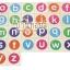 บล็อคไม้ภาษาอังกฤษ ABC รูปภาพคำศัพท์ ตัวเลข และเครื่องหมาย 105 ชิ้น thumbnail 3