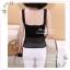 WG029 เสื้อซับในครึ่งตัว มี 2 สี ดำ ขาว มีซับใน ด้านตัดแต่งลายสวยงาม thumbnail 6
