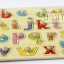 ของเล่นไม้กระดานจับคู่เงา a - z ตัวพิมพ์เล็ก thumbnail 2