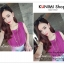 VS037 เสื้อชีฟอง แขนกุด อัดกลีบพีช สวยหวาน มี 4 สี สีชมพูอ่อน สีม่วง สีขาว สีดำ thumbnail 7