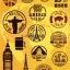 STGP006 สติกเกอร์ Sticker กระดาษเคลือบกันน้ำ ลายการ์ตูน กราฟฟิก วินเทจ สวย เท่ห์ ติดกระเป๋า ของใช้ ตู้ ผนัง ตกแต่งสิ่งของ thumbnail 1
