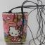 กระเป๋าใส่โทรศัพท์มือถือกระจูด แบบห้อยคอ ลาย Hello Kitty กับบอลลูน สุดน่ารัก thumbnail 1