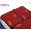 GB206 กระเป๋าจัดเก็บเสื้อผ้า กระเป๋าเซตจัดระเบียบ 1 เซต มี 3 ใบ 3 ขนาด (สามารถเลื่อนลงไปดูขนาดด้านล่างได้ครับ) thumbnail 7