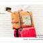 GB160 กระเป๋าผ้าเดินทาง จัดเก็บสิ่งของ ใบใหญ่ พับเก็บได้ พกพาสะดวก ดีไซน์สวย เรียบหรู ใส่ของเอนกประสงค์ ขนาด กว้าง 48 x สูง 35 x หนา 14.5 cm. thumbnail 16
