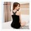 WG027 เสื้อกล้าม ซับในเต็มตัว ด้านหลังมีลายผีเสื้อ สวยหวาน มี 2 สี ขาวดำ thumbnail 4