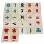 บล็อคไม้ภาษาอังกฤษ ABC รูปภาพคำศัพท์ ตัวเลข และเครื่องหมาย 105 ชิ้น thumbnail 5