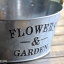 Pre-Order กระบะต้นไม้ สังกะสีปั้มลายนูน Flowers & Garden หูเชือกปอ มี 4 ทรง Zakka thumbnail 18