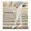 LG007 กางเกงเลคกิ้งขายาว ประดับด้วยผ้าลูกไม้ มี 3 สี สีขาว สีเทาอ่อน สีดำ thumbnail 35