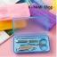GL131 กล่องเก็บอุปกรณ์ดูแลเล็บ แบบพกพา ขนาดกระทัดรัด มี 2 สี สีฟ้า สีชมพู thumbnail 3