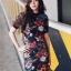 Zara Dress เดรสผ้าlip พิมพ์ลายสไตล์zaraค่ะ งานน่ารักมาก ทรงเข้ารูป ใส่เป็นเดรสทำงาน ใส่เที่ยวแมตซ์กับผ้าใบสักคู่เข้ากันดีนะคะ thumbnail 1