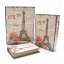กล่องเก็บของทรงหนังสือแนววินเทจ ขนาดกลาง M ลาย Love My Paris thumbnail 3