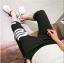 กางเกงขาสั้น3ส่วน JOGGER BLACK/WHITE STRIPED thumbnail 5