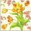 แนวภาพดอกไม้ เป็นช่อดอกไม้สีขาวสีเหลือง เป็นภาพกระจายเต็มแผ่น กระดาษแนพกิ้นสำหรับทำงาน เดคูพาจ Decoupage Paper Napkins ขนาด 33X33cm thumbnail 1