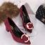 รองเท้า แฟชั่น เกาหลี หัวตัวC J004 thumbnail 6
