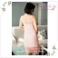 SP075 ชุดนอนกระโปรงยาว ประดับด้วยผ้าลูกไม้ สวยหวาน มี 2 สี สีขาว สีชมพู thumbnail 3