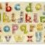 """ของเล่นไม้กระดานจับคู่เงา a - z ตัวพิมพ์เล็ก"""" จิ๊กซอว์ไม้เสริมพัฒนาการเด็ก"""" thumbnail 1"""