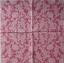 แนวภาพลายแต่ง ลายเส้นดอกไม้สีขาวบนพื้นสีชมพู เป็นภาพเต็มแผ่น กระดาษแนพกิ้นสำหรับทำงาน เดคูพาจ Decoupage Paper Napkins ขนาด 33X33cm thumbnail 2