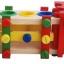 ของเล่นเสริมพัฒนาการ รถไม้วิศวะ ถอดประกอบ แบบทุบบอล 4สี thumbnail 3