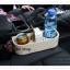 GL185 ที่วางแก้วน้ำ อาหาร ขนม หรือของใช้ต่างๆ ข้างเบาะนั่งคนขับรถ มีที่เสียบลงไปที่ระหว่างเบาะรถ ขนาด กว้าง 28 x สูง 21 cm. น้ำหนัก 350 กรัม มี 2 สี สีครีม สีดำ thumbnail 2