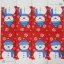 แนวภาพเทศกาล ตุ๊กตาหิมะบนพื้นสีแดง เป็นภาพ 8 บล๊อค กระดาษแนพคินสำหรับทำงาน เดคูพาจ Decoupage Paper Napkins ขนาด 21X22cm thumbnail 2
