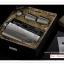 K029N ชุดเซ็ตกระป๋องใส่เหล้า 8 OZ (240 ซีซี) สแตนเลสพมพ์ลายสวย มาพร้อม ถ้วยแสตนเลท 2 อัน และกรวย 1 อัน thumbnail 3