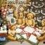 กระดาษสาพิมพ์ลาย rice paper สำหรับทำงาน hand made เดคูพาจ Decoupage แนวภาพ หมี Teddy ล้อมวงเย็บผ้านวมผืนใหญ่ใต้ต้นคริสมาสต์ (ปลาดาว ดีไซน์) thumbnail 2