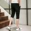 กางเกงขาสั้น3ส่วน JOGGER BLACK/WHITE STRIPED thumbnail 6