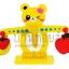 ตาชั่งไม้หมีน้อยสอนคิดเลข+ฝึกสมดุล thumbnail 2