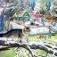 กระดาษสาพิมพ์ลาย สำหรับทำงาน เดคูพาจ Decoupage แนวภาพ แมวขนฟูพองขน รับฤดูหนาวหิมะตกทั่วเมือง thumbnail 1
