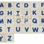 บล็อคไม้ภาษาอังกฤษ ABC รูปภาพคำศัพท์ ตัวเลข และเครื่องหมาย 105 ชิ้น thumbnail 2