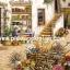 กระดาษอาร์ทพิมพ์ลาย สำหรับทำงาน เดคูพาจ Decoupage แนวภาพ จัดบ้านและสวน เกวียนดอกไม้ประดับสวนสวยในห้องใต้ดิน สไตล์ยุโรป (pladao design) thumbnail 1