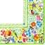 แนวภาพ กรอบดอกไม้หลากสี ภาพโทนสีสดใส เป็นภาพเต็มแผ่น กระดาษแนพกิ้นสำหรับทำงาน เดคูพาจ Decoupage Paper Napkins ขนาด 33X33cm thumbnail 1