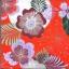 แนวภาพดอกไม้ ลายเส้นดอกไม้หลากชนิด ภาพโทนสีแดง เป็นภาพกระจายเต็มแผ่น กระดาษแนพกิ้นสำหรับทำงาน เดคูพาจ Decoupage Paper Napkins ขนาด 33X33cm thumbnail 1