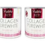 คอลลาเจน เพรียว ไวท์ มาโดก้า MADOKA COLLAGEN PURE WHITE อาหารผิวยอดฮิตจากญี่ปุ่น ช่วยให้ผิวขาวนุ่ม เด้ง ใส อ่อนกว่าวัย ราคาส่ง
