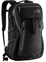 The North Face - Router Travel Backpack (สีดำ/โลโก้ขาว) New !!!