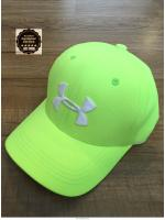 Under Armour - 2016 New Stretch Fit Cap : Free Size (สีเขียวอ่อน/ โลโก้ขาว)