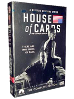 House of Cards season 2 DVD Boxset